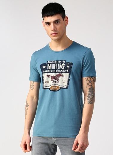 Mustang Tişört Mavi